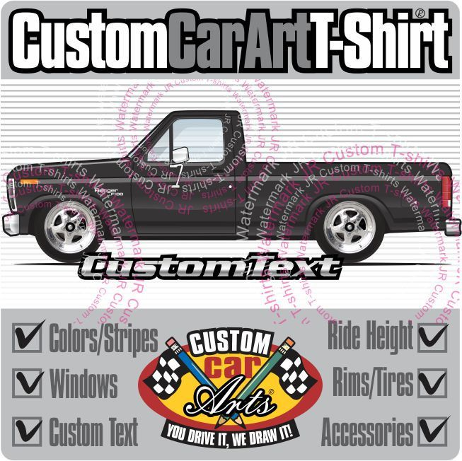 Custom Art T Shirt 1980 1981 1982 1983 1984 1985 1986 Ford Etsy