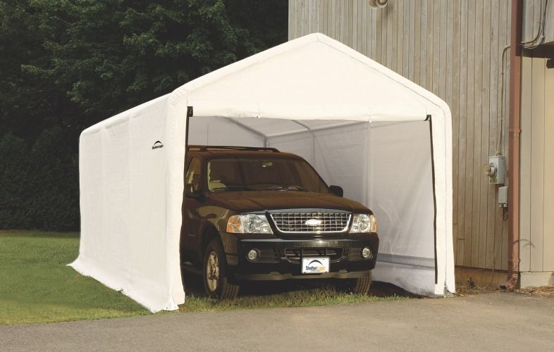 Need An Upgrade Replace Your Shelterlogic Garage Cover Carport Homeowner Outdoor Bed