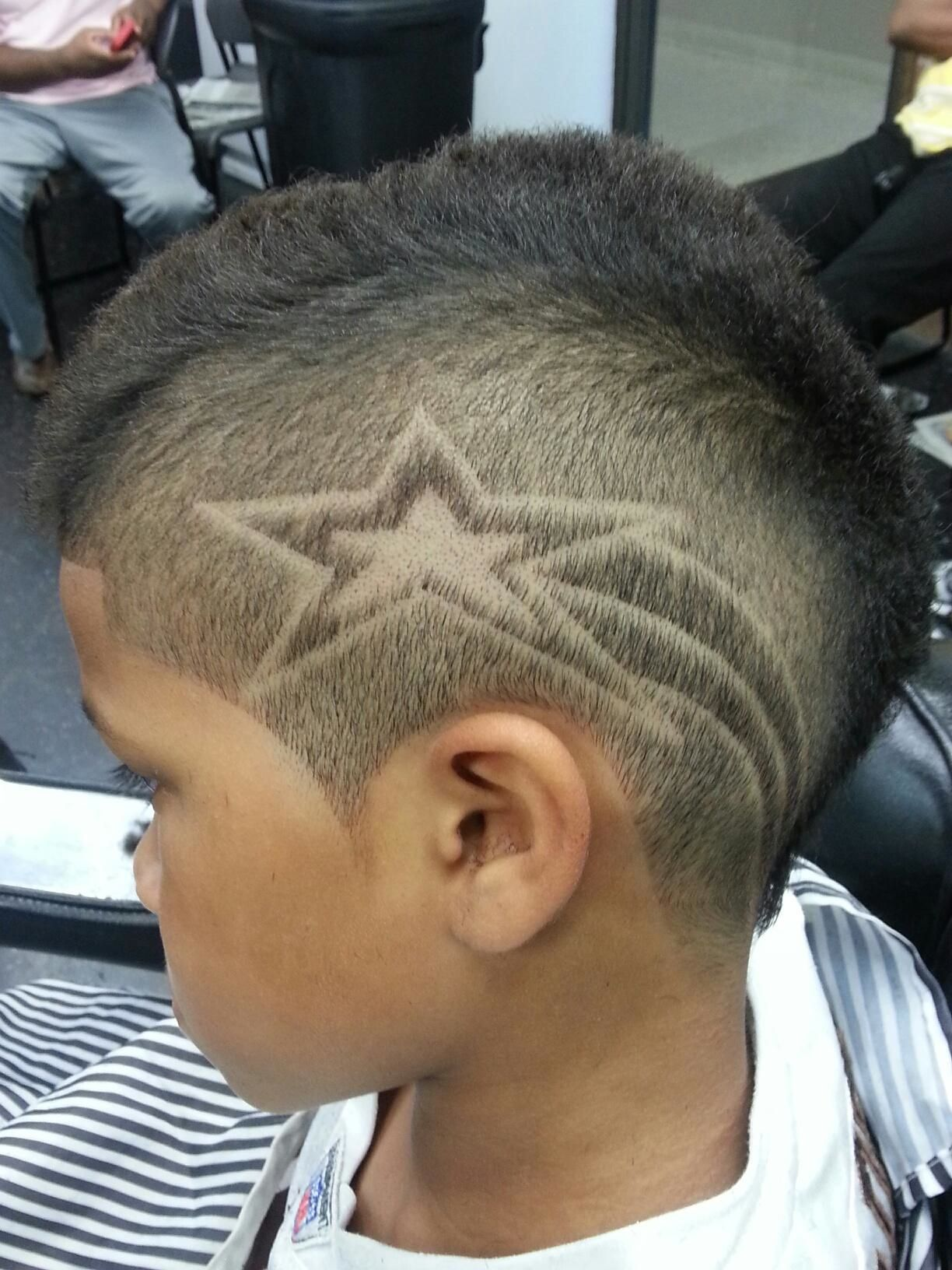 star design hair cuts | Loren The Barber | Cosmetologist ...