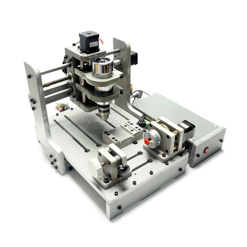 Cnc Wood Router Mach3 Control 4 Axis Cnc 3d Engraving Machine With 300w Spindle Mini Lathe Woodworking Machine Pcb Milling With Images Cnc Engraving Machine Cnc Wood Router Milling Machine