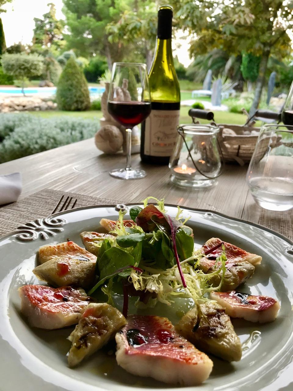 Diner gastronomique à la Table d'hôtes du Clos des Cyprès   Diner, Diner romantique