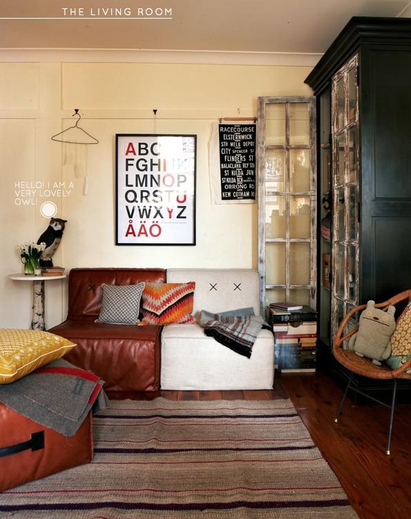 Home Tour A Stylist S Sydney Apartment Bright Bazaar Home Funky Home Decor Home Decor