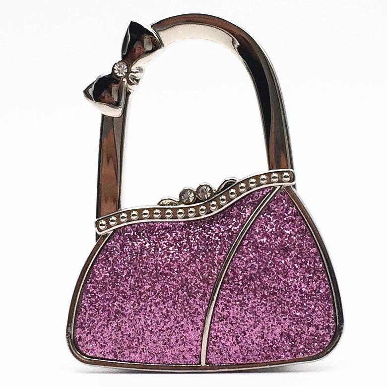 Women's gift/ fashion accessory gift/ Folding Foldable Lady Girl Handbag  Table Desk Hanger Hook Purse Table H… | Handbag hanger, Purses and handbags,  Handbag holder