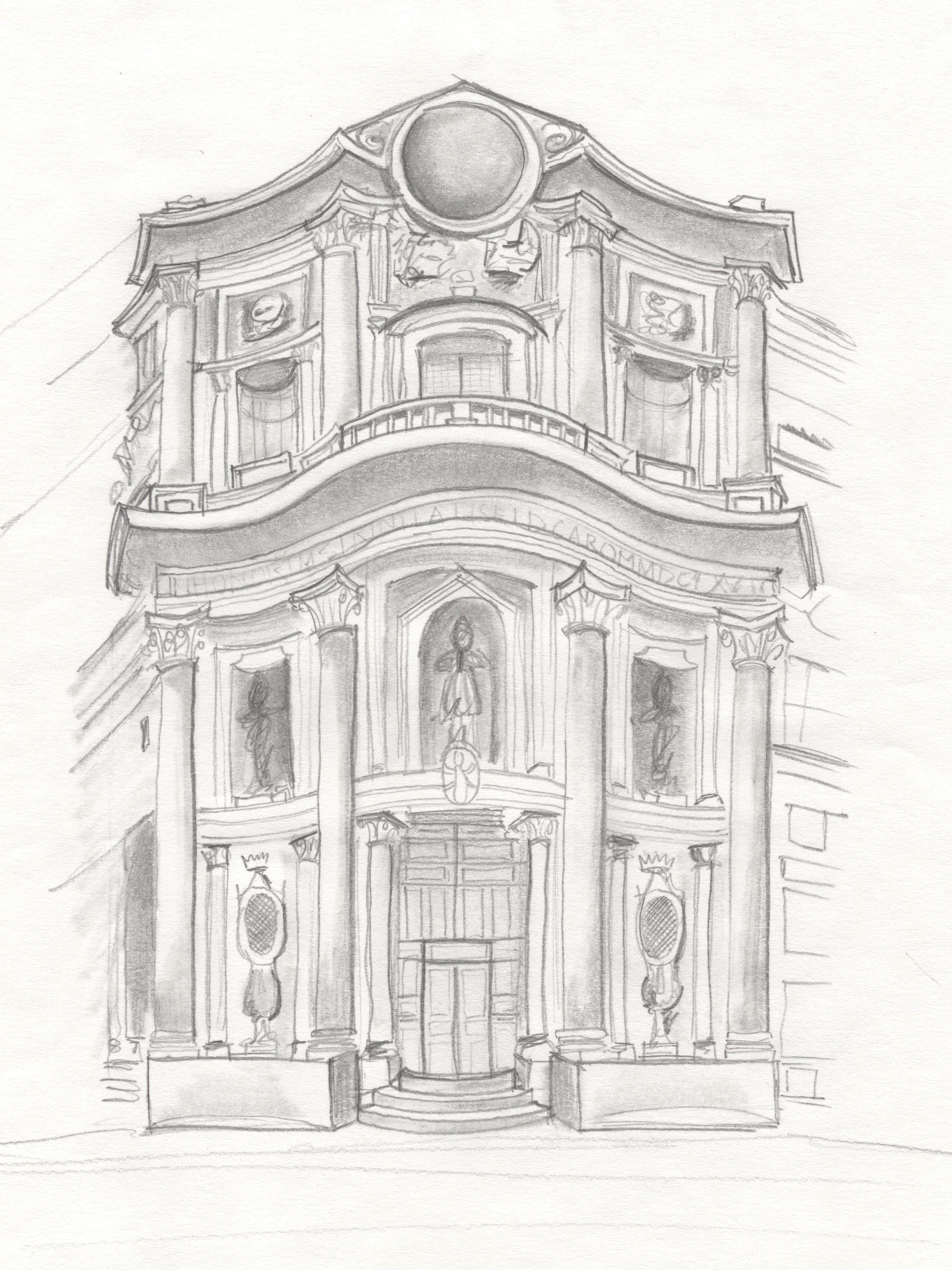 italian baroque architecture, piedmont; cappella della ss. sindone