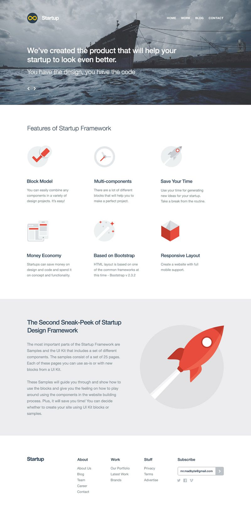 Startup Free Bootstrap Builder For Templates Themes Web Design Examples Web Design Tips Web Design