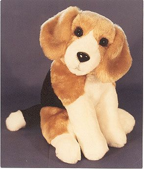 Beagle Sewing Pattern Toy Stuffed Animal Puppy Dog Plushie Bear
