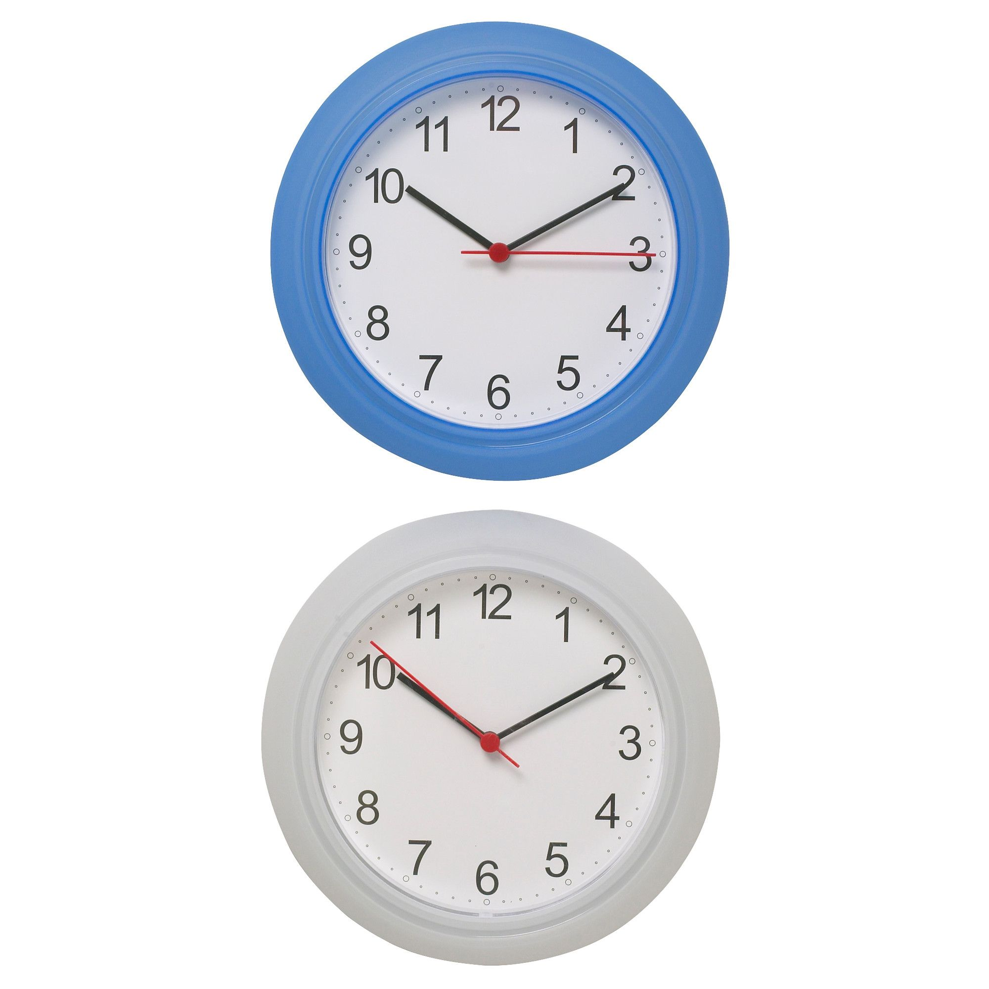 Rusch wall clock white wall clocks clocks and college apartments rusch wall clock white amipublicfo Image collections