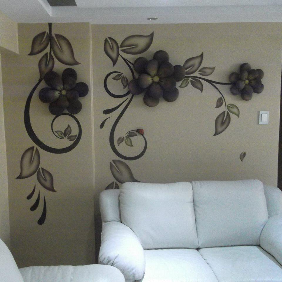 murales en 3D | Yeso | Pinterest | Murales, 3d y Decoracion de salas