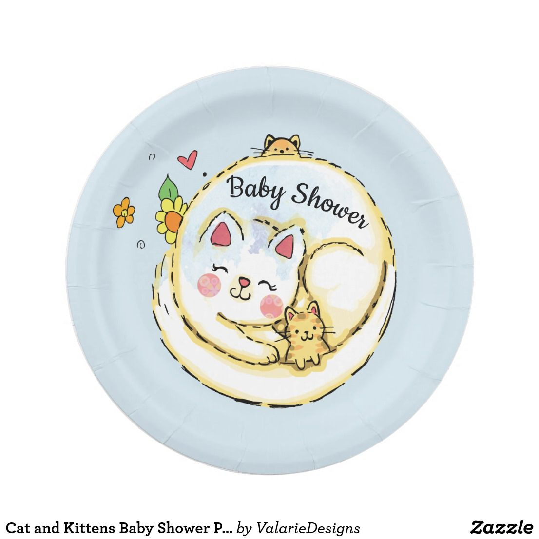 Pin On Baby Shower Paper Plates