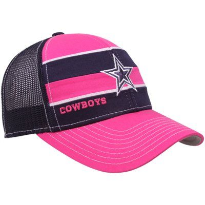 brand new 57781 58246 Reebok Dallas Cowboys Ladies Pink-Navy Blue Breast Cancer ...