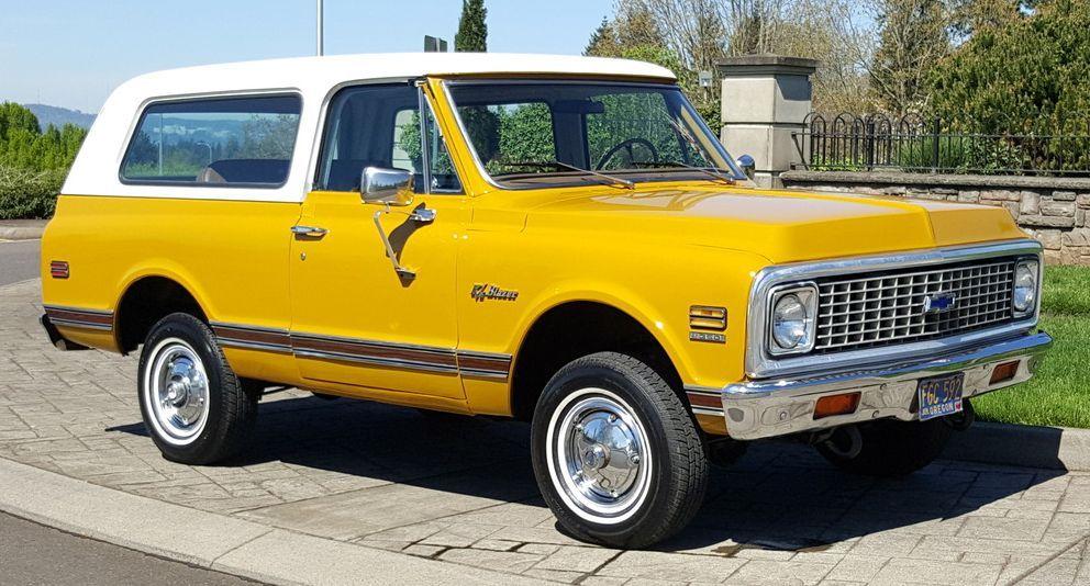 Unmodified K5 1972 Chevrolet Blazer Cheyenne Super Chevrolet