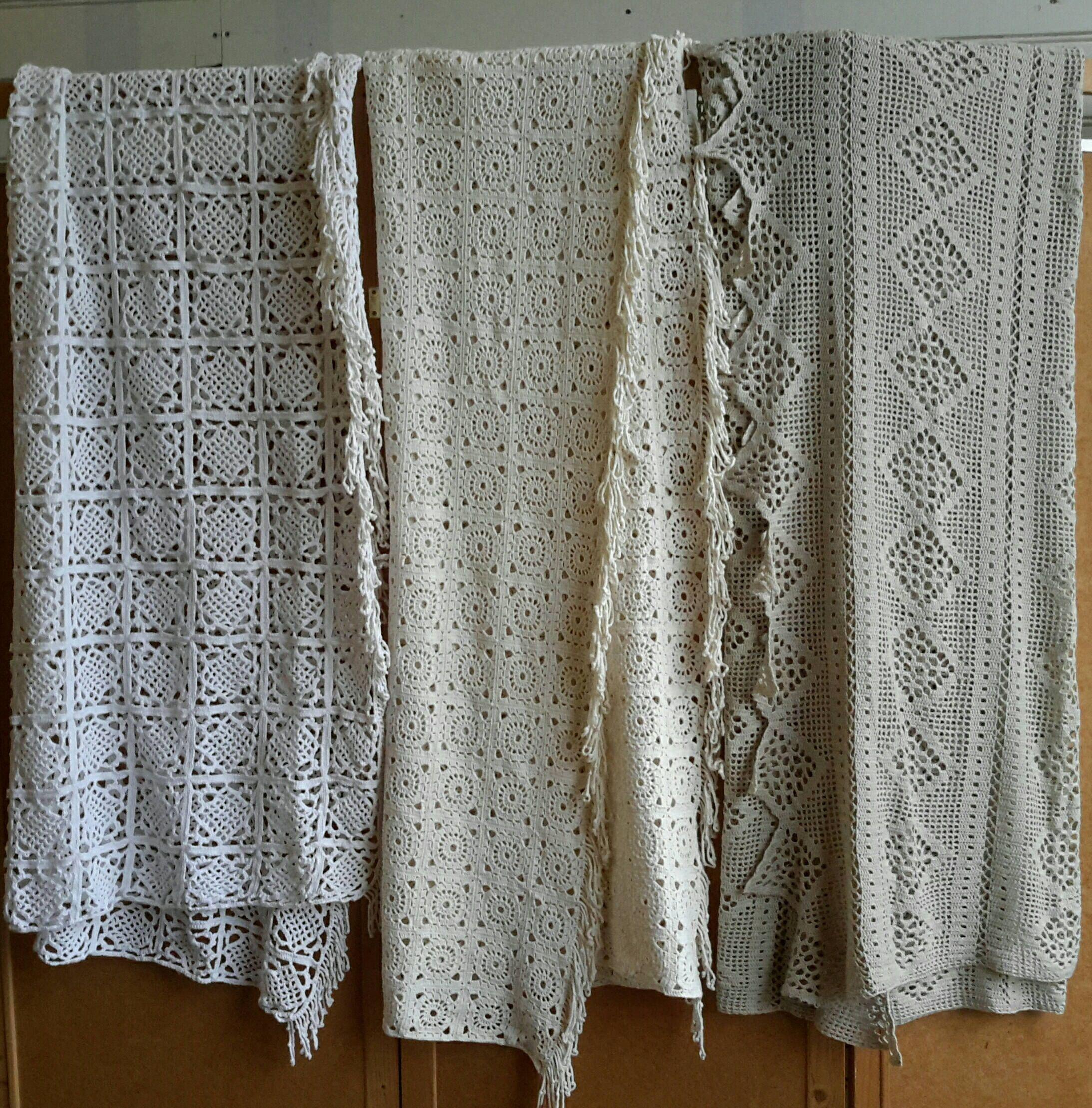 Brocante Gehaakte Sprei.Crochet Spread Bed Leek Crochet Brocante Bedspreads