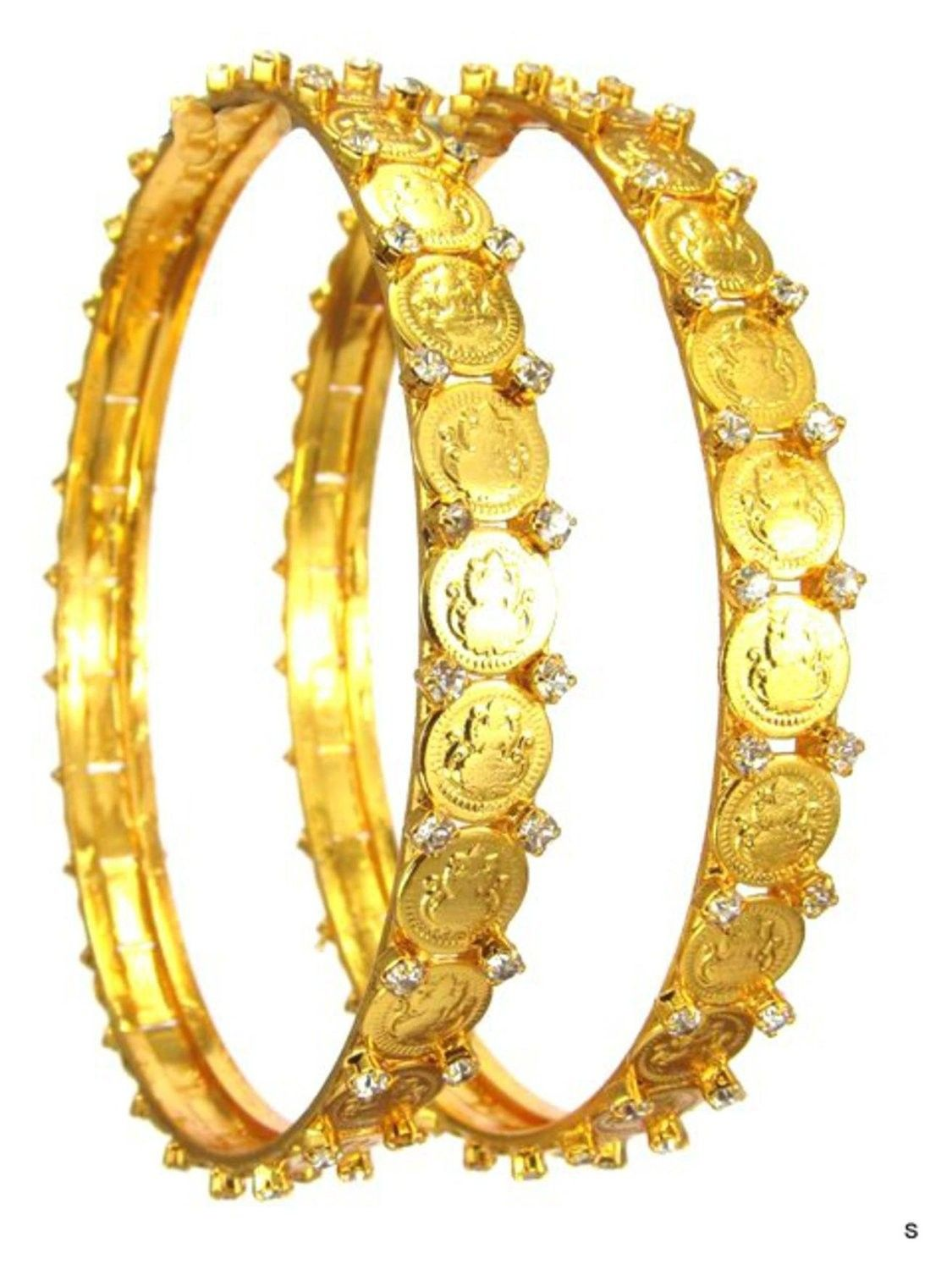 Checkout our awesome product imitation kolhapuri coin gold bangles