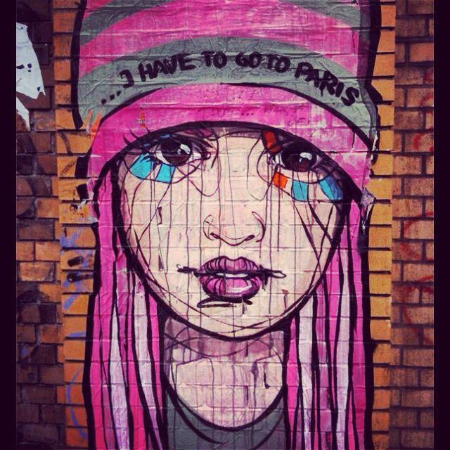 Street Art. Graffiti.