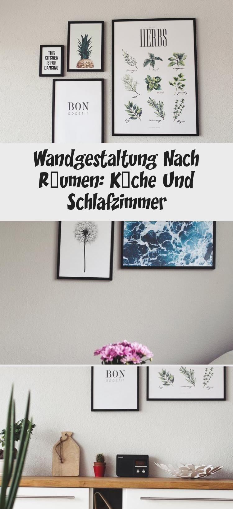 Wandgestaltung Nach Räumen: Küche Und Schlafzimmer
