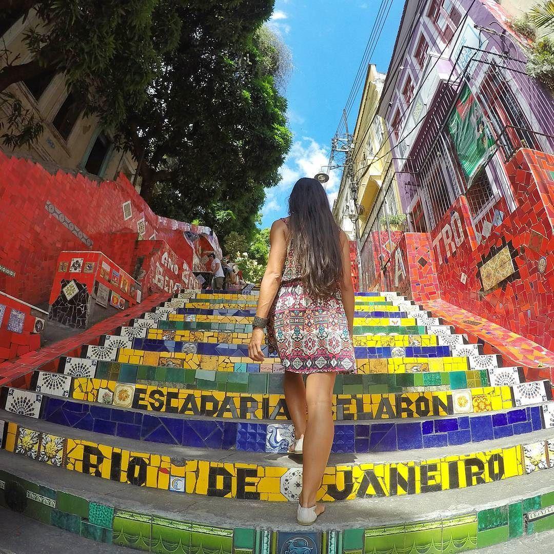 Antes Conhecida Como Escadaria Do Convento De Santa Teresa A
