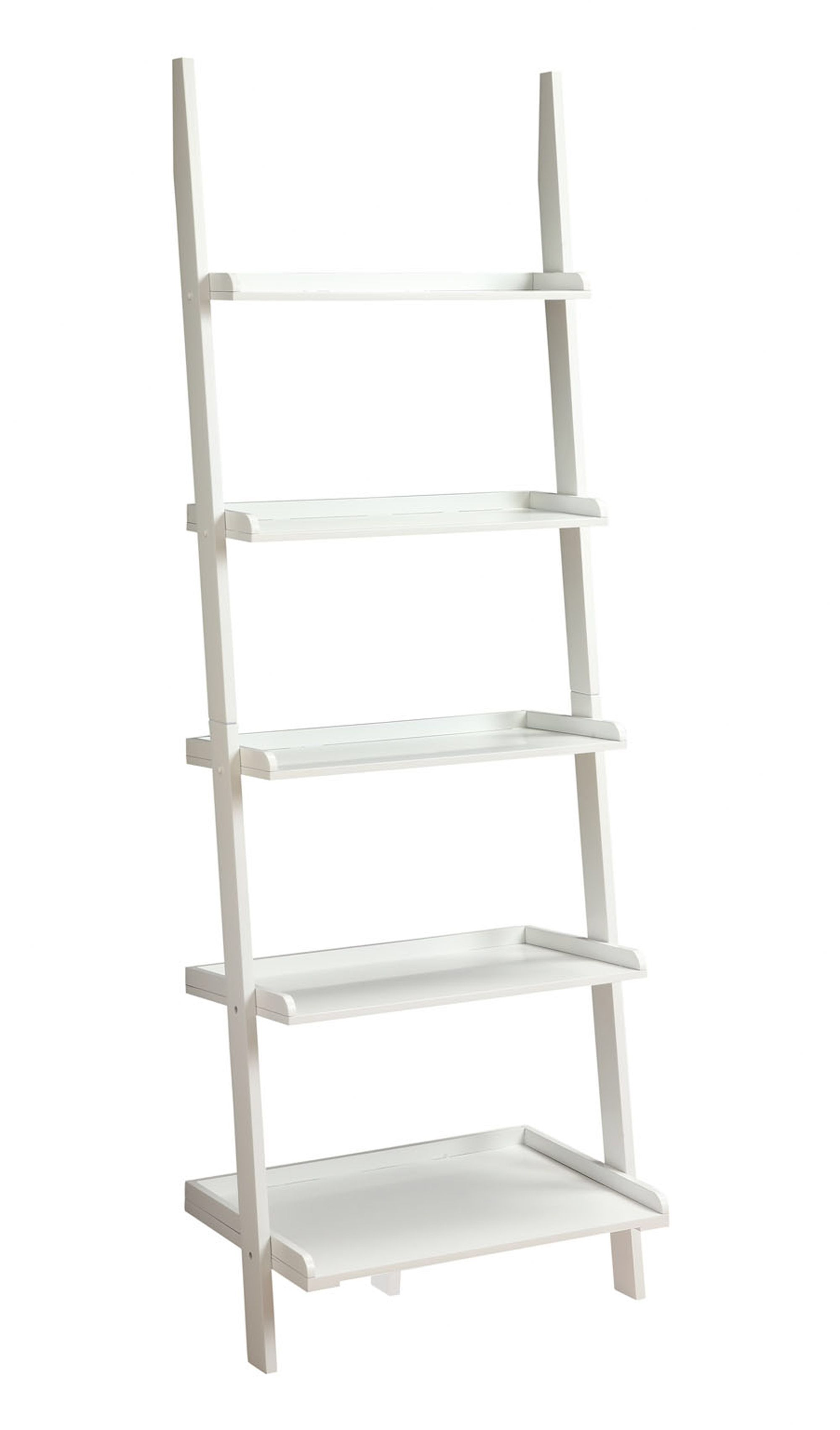 """French Country 72"""" Ladder Bookcase"""