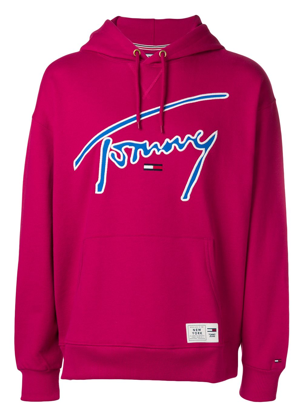 Tommy Jeans Signature Logo Sweatshirt Farfetch [ 1334 x 1000 Pixel ]