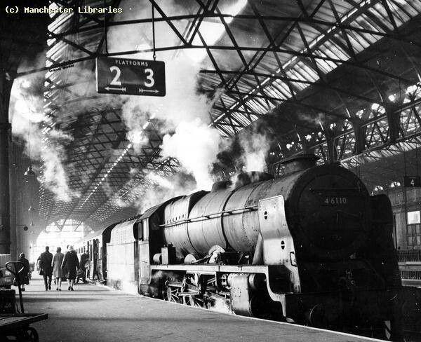 Manchester Exchange circa 1963 Trains Pinterest Locomotive