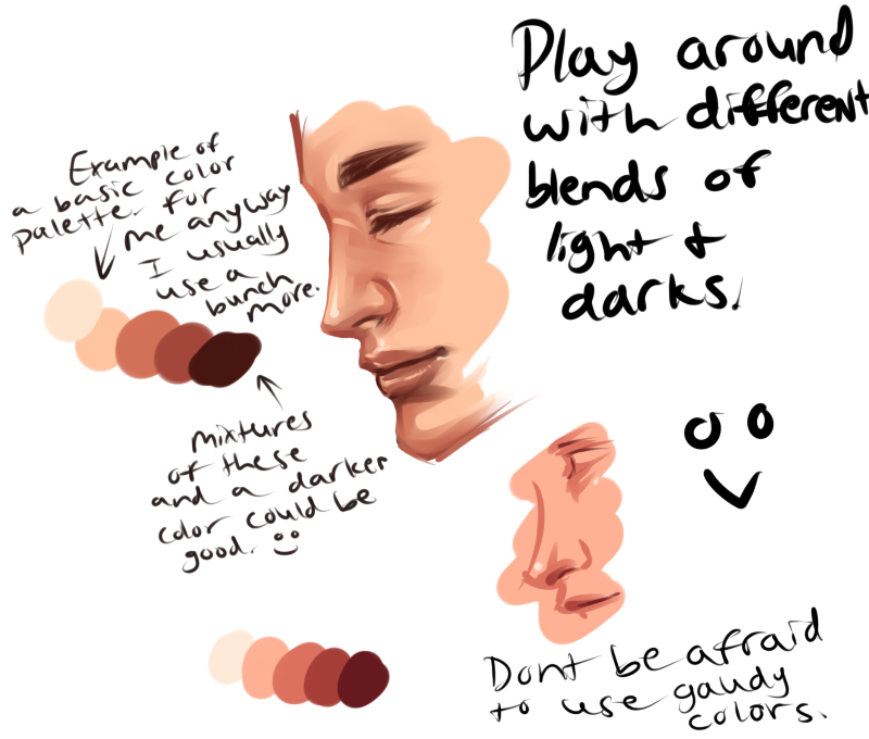 Character Design Color Palette : Crappy color palette away by xxxkaraxxx ★ character