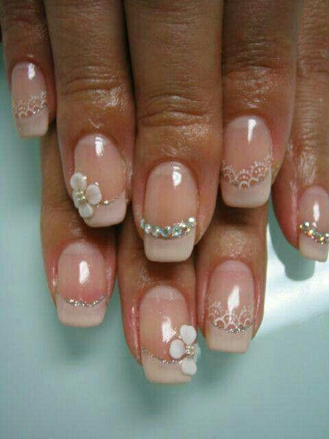 Bridesnails i love them bruidsnagels waar ik van hou | nail art ...