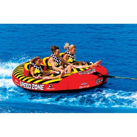 New Sportsstuff Towable Boat Tube 3 Rider Speedzone 3 Spo 531940 Boat Parts