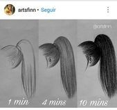 Photo of Drawing Hairstyles For Your Characters #Pencil Drawing Hair Tutorial, # …