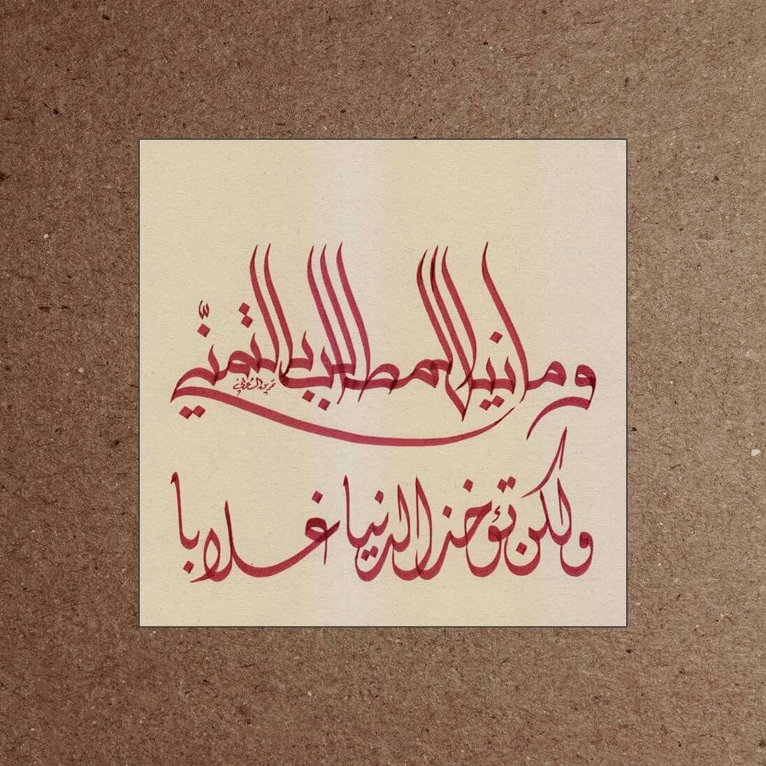 وما نيل المطالب بالتمني ولكن تؤخذ الدنيا غلابا Iphone Wallpaper Wallpaper Arabic Calligraphy