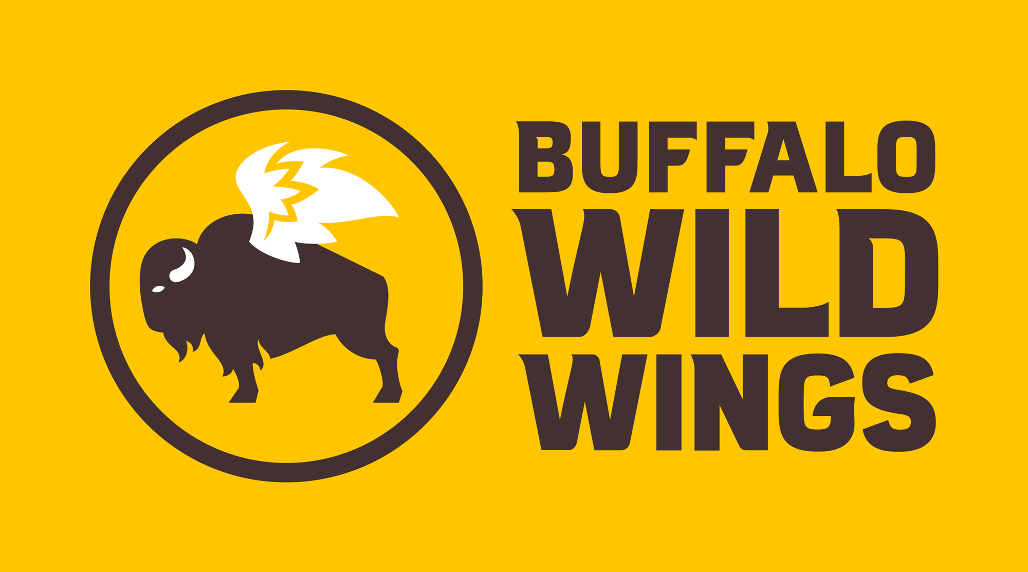 New Logo And Identity For Buffalo Wild Wings By Interbrand Buffalo Wild Buffalo Wild Wings Buffalo