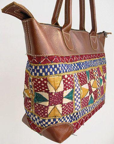 インド刺繍バッグ