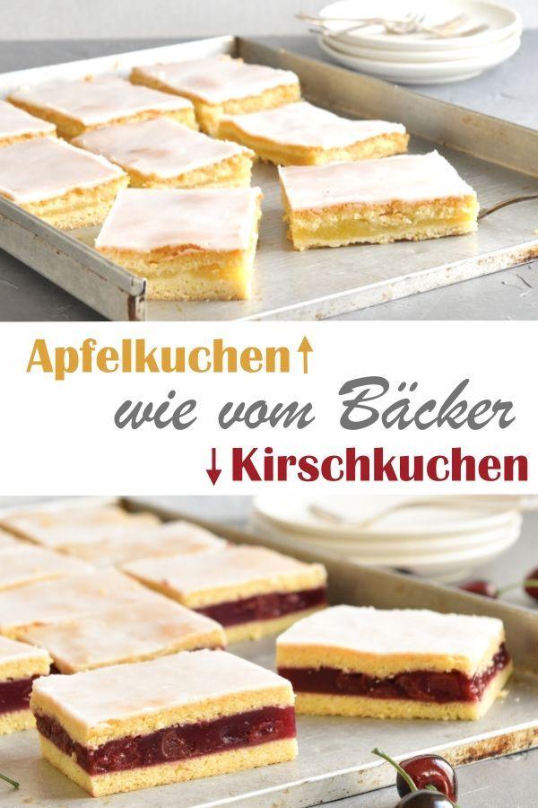 Apfelmuskuchen. Wie vom Bäcker.  – Apfelrezepte