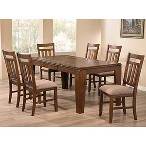 Costco Wooden Sofa Set Dining Table Chairs