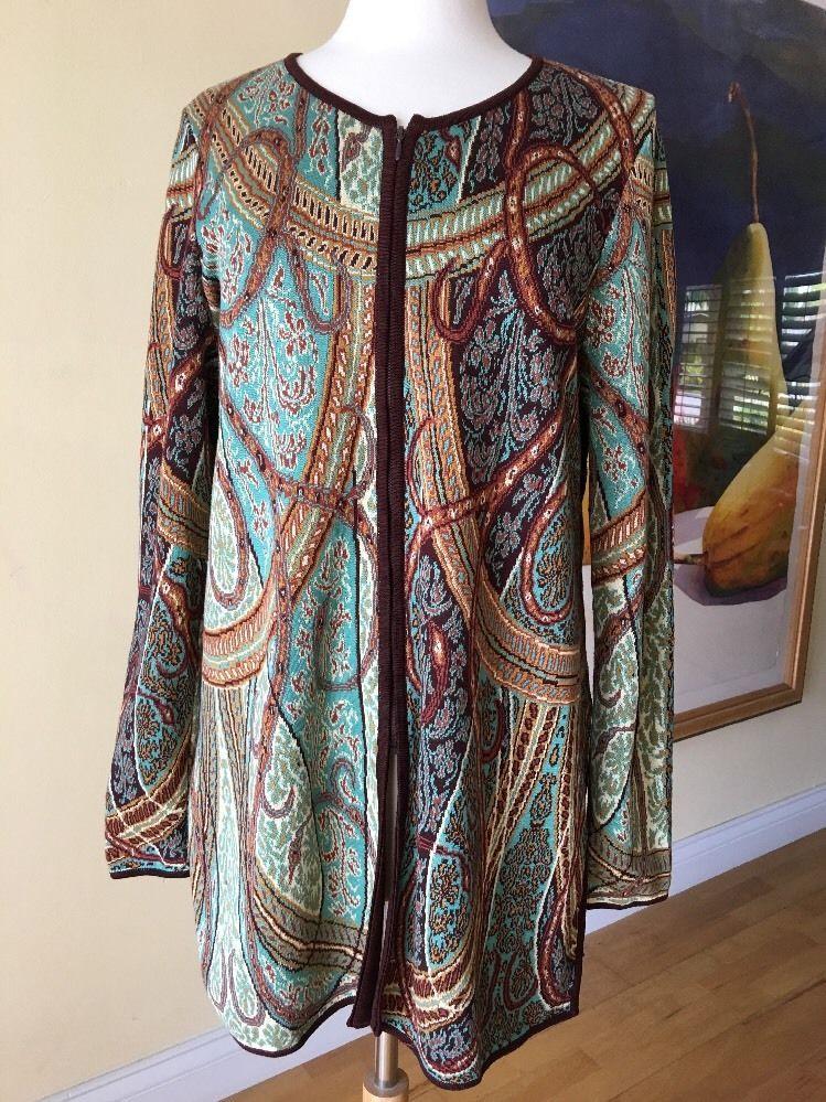 "Peruvian Connection Artsy Long Zipper Knit Pima Cotton Sweater Cardigan B45"" M https://t.co/F0FEJvZGiA https://t.co/lD8JlZy3gy"