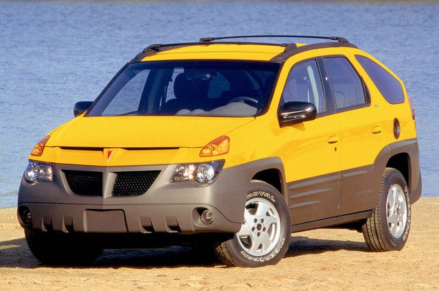 Design Disasters The Ugliest Cars Of The Last Five Decades Pontiac Aztek Pontiac Car