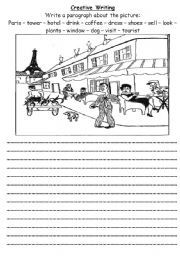 english worksheets creative writing writing english worksheets creative writing