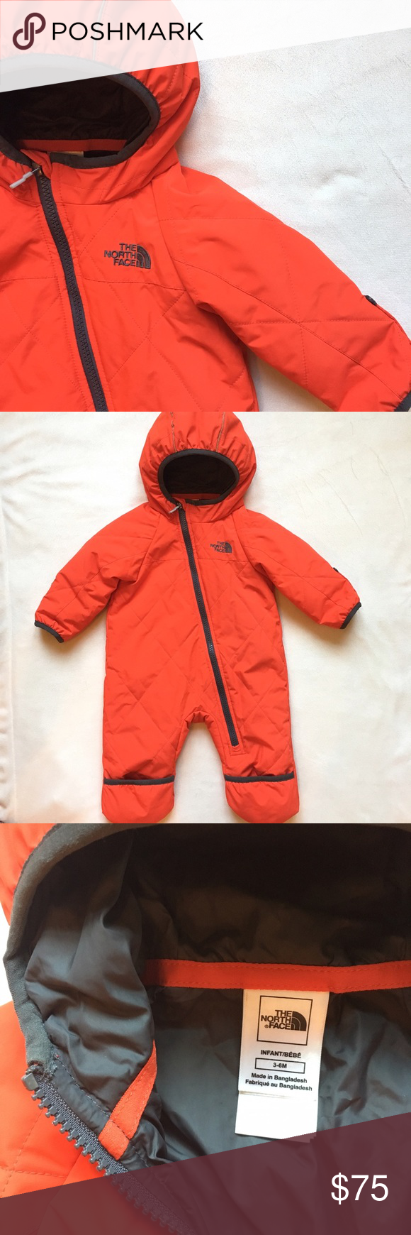 b9f15d57f The North Face Infant Winter Snow Suit NWOT The North Face Infant ...