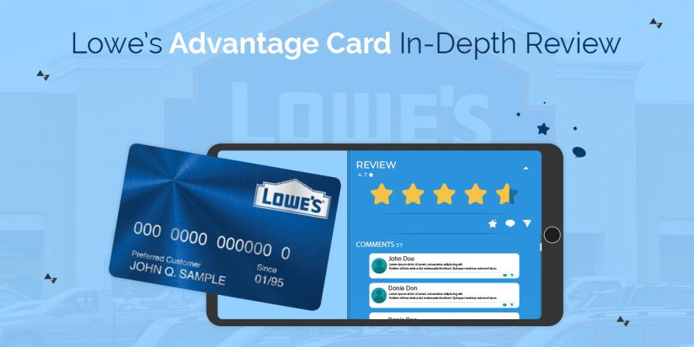 Lowe S Advantage Card In Depth Review Business Credit Cards Cards Project Finance