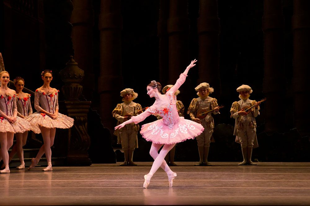Lauren Cuthbertson In The Sleeping Beauty C Roh Johan Persson Click Image For Larger Version Royal Ballet Sleeping Beauty Ballet Ballet Beautiful