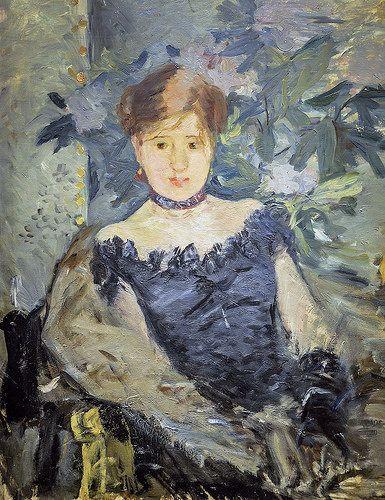 Le corsage noir - Berthe Morisot