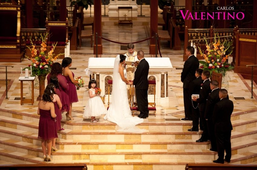 Blessed Wedding Photography: Cathedral Blessed Sacrament