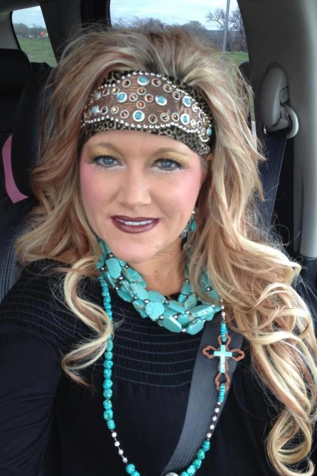 safari girl headbands-safari studded