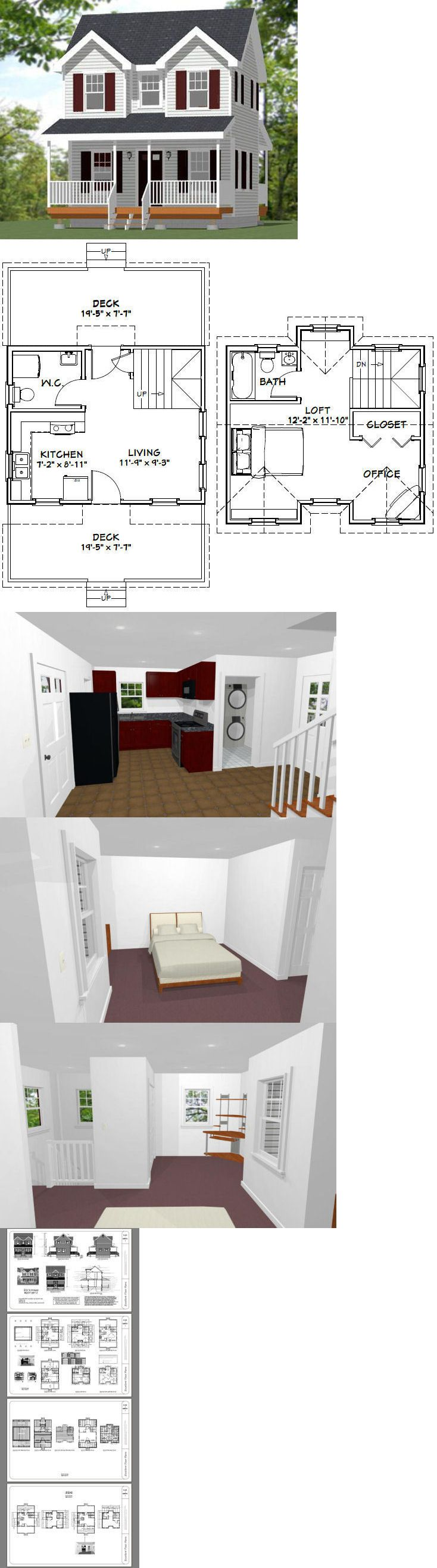 Building plans and blueprints  tiny house pdf floor plan also rh pinterest