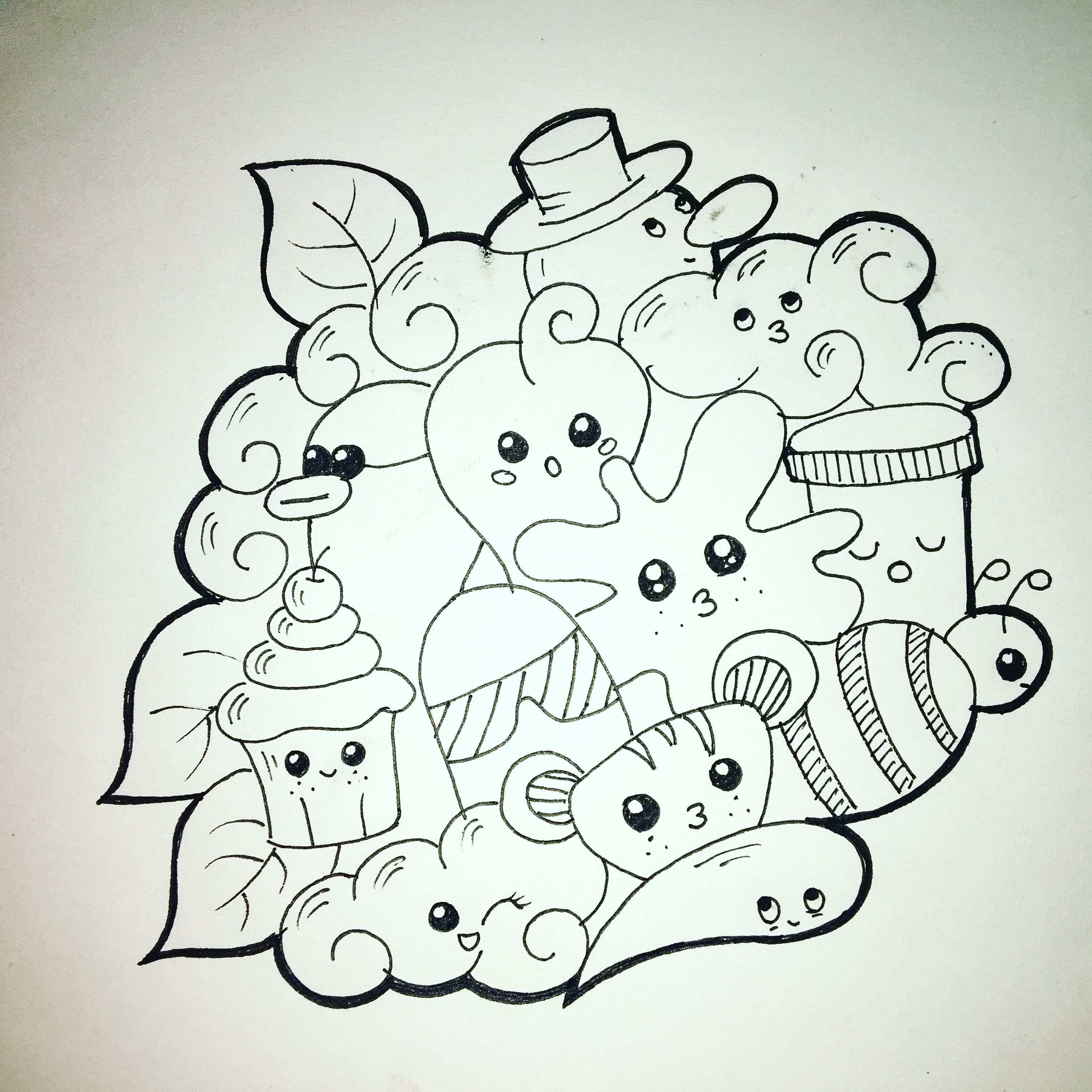 Mental Health Drawings Easy