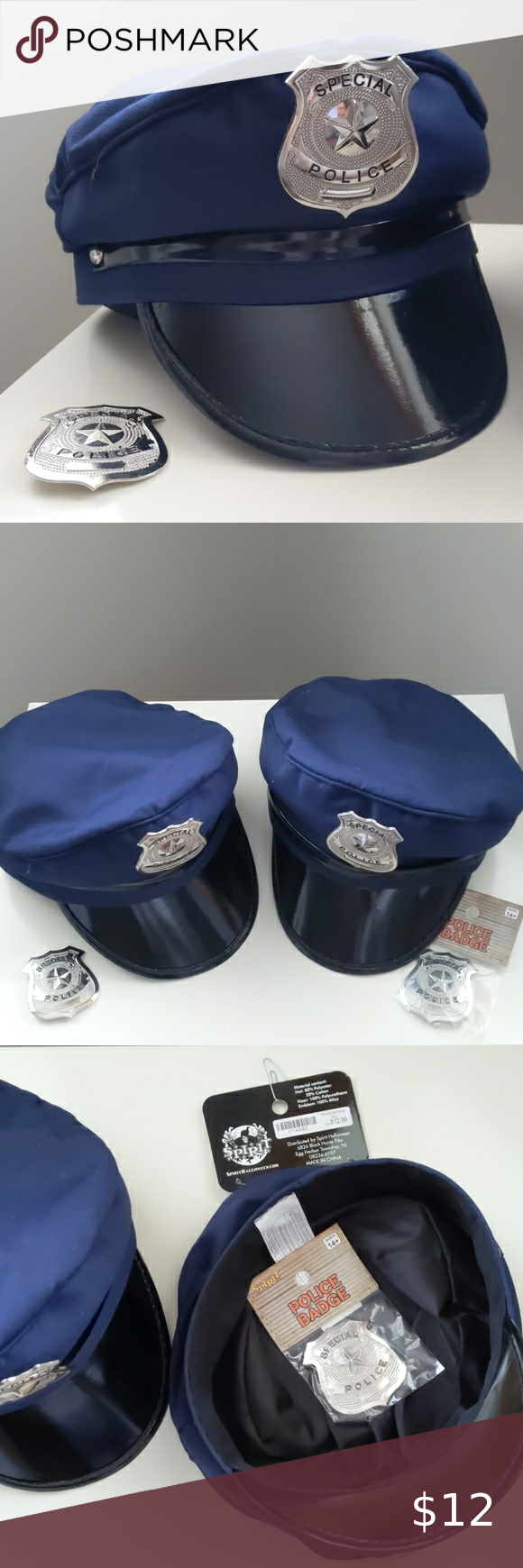 New Police Officer Costume Cap Captain Cop Hat Mens Accessories Police Officer Costume Expensive Clothes