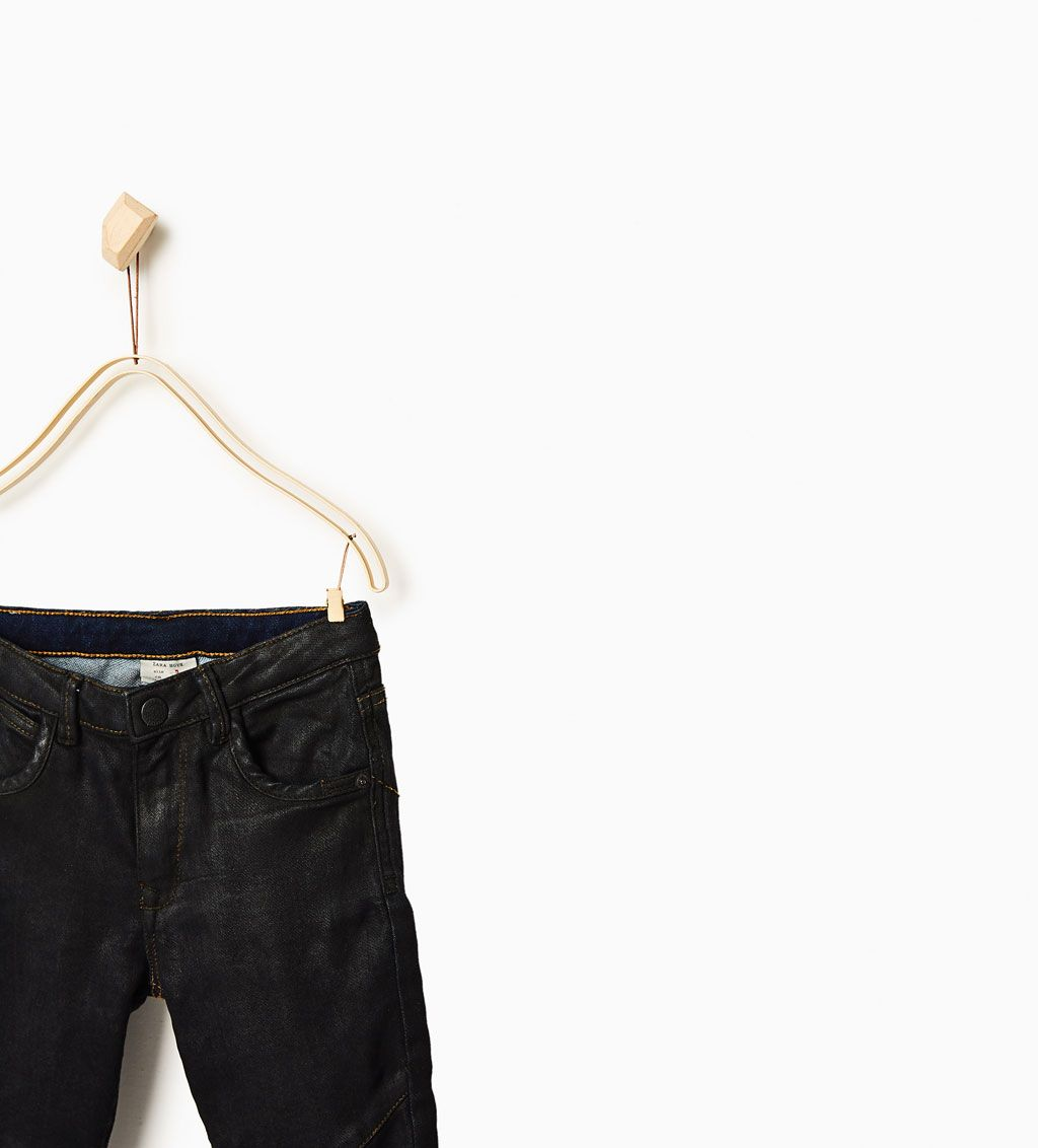 ZARA - KIDS - Coated jeans