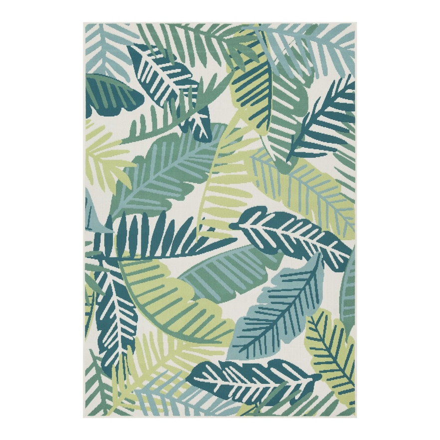 Sonoma Goods For Life Palm Indoor Outdoor Rug Outdoor