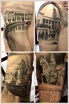 Matteo Pasqualin - This has to be the guy to do my world skyline tattoo....