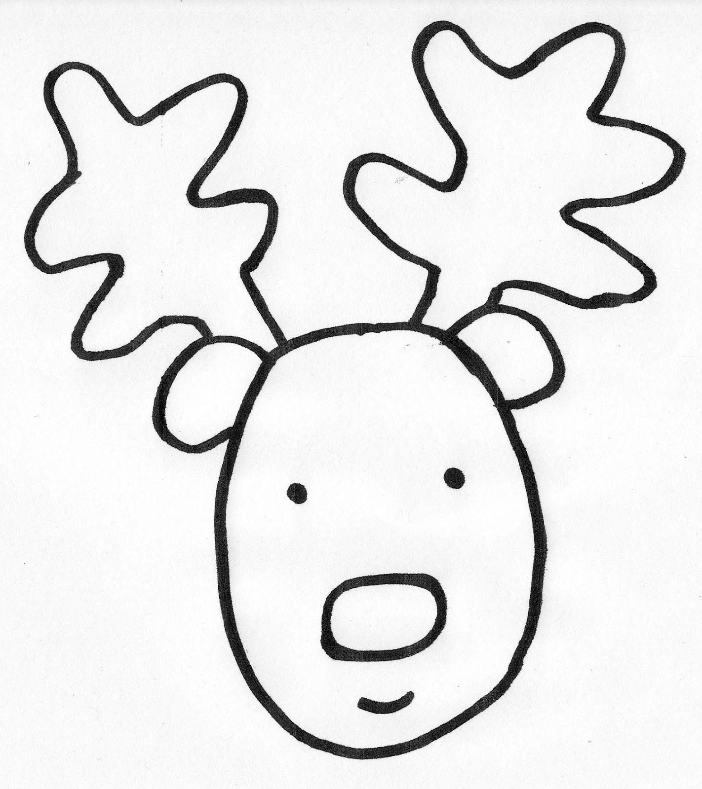 Free Snowman Templates Kinder Journey Reindeer Write