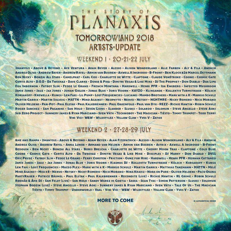 Tomorrowland Festival Tomorrowland Festival Tomorrowland Music Festival Poster