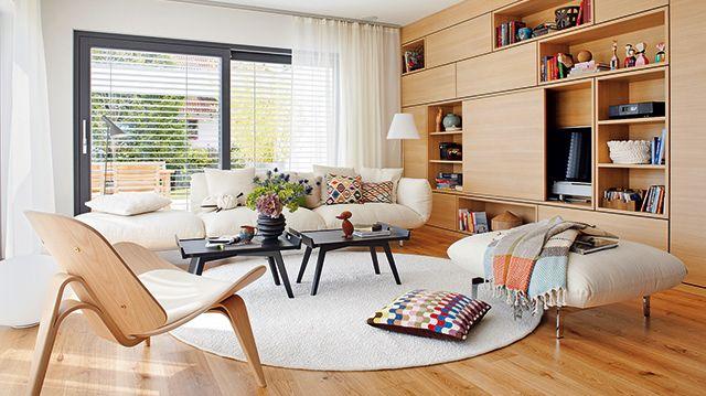 5 Tipps zur Innenraumgestaltun Wohnzimmer gemütlich